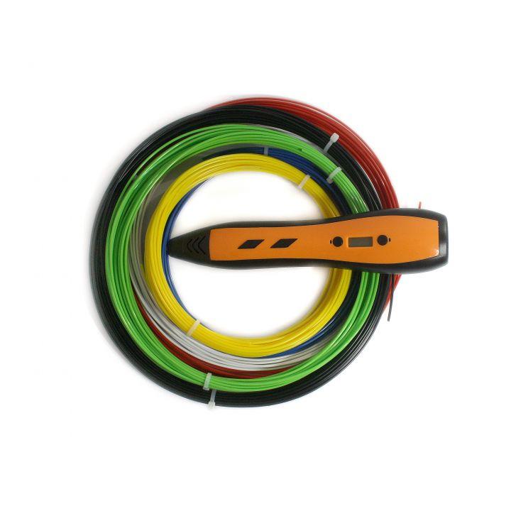 3D ручка RP700A, оранжевая, для мальчиков