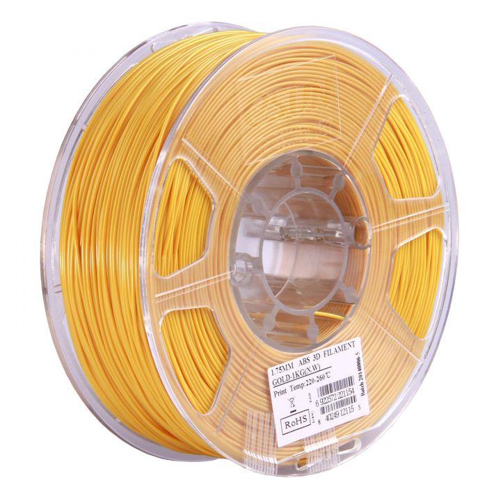 Катушка ABS-пластика ESUN 1.75 мм 1кг., золотистая (ABS175J1)