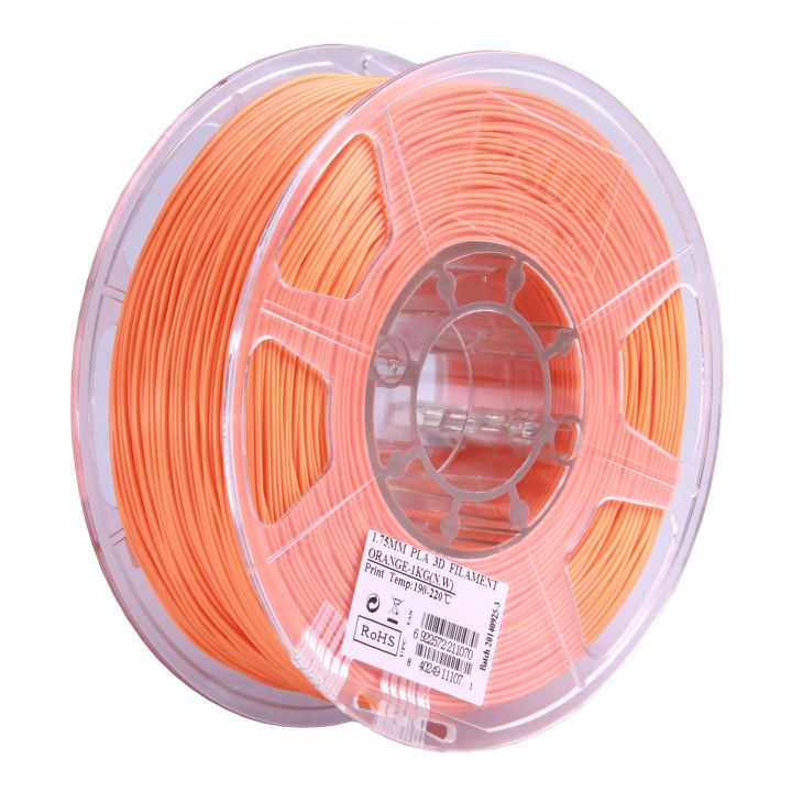 Катушка PLA-пластика ESUN 1.75 мм 1кг., оранжевая (PLA175O1)