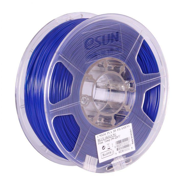 Катушка PLA-пластика ESUN 1.75 мм 1кг., синяя (PLA175U1)