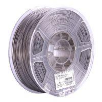 Катушка ABS-пластика ESUN 1.75 мм 1кг., серебристая (ABS175S1)