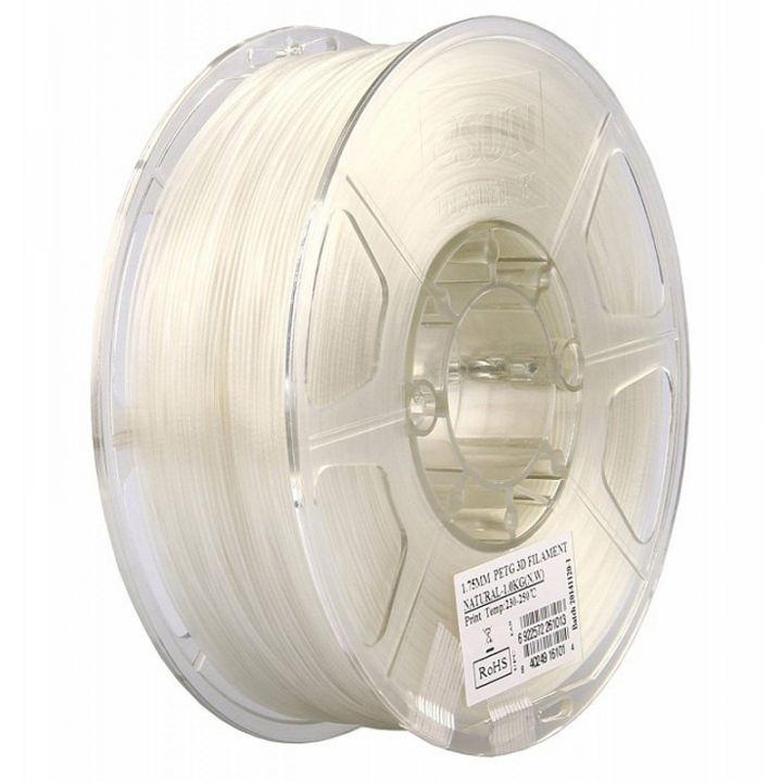 Катушка PETG-пластика ESUN 1.75 мм 1кг., натуральная (PETG175N1)