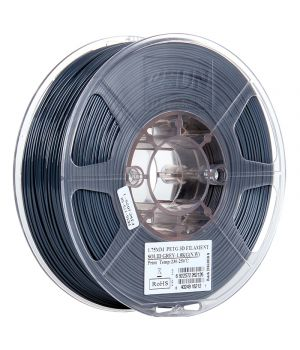 Катушка PETG-пластика ESUN 1.75 мм 1кг., серая (PETG175SH1)