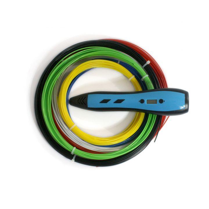 3D ручка RP700A, синяя, для мальчиков
