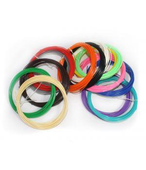 Комплект ABS пластика Tiger 3D 1.75 мм Для 3D ручек, 14 цветов по 9 метров каждого цвета