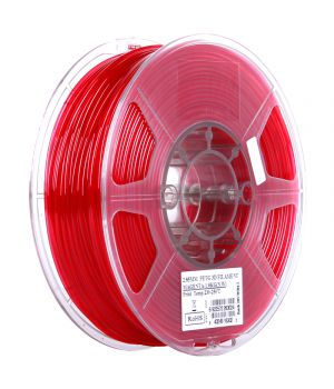 Катушка PETG-пластика ESUN 1.75 мм 1кг., красная (PETG175PP1)