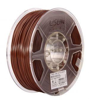 Катушка ABS-пластика ESUN 1.75 мм 1кг., коричневая (ABS175C1)