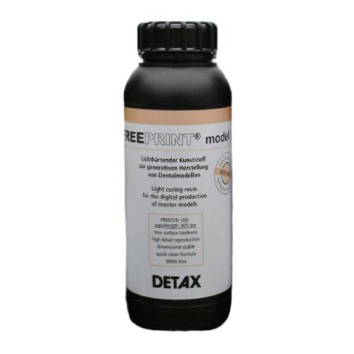 Фотополимер DETAX, Free print model, слоновая кость (1 кг)