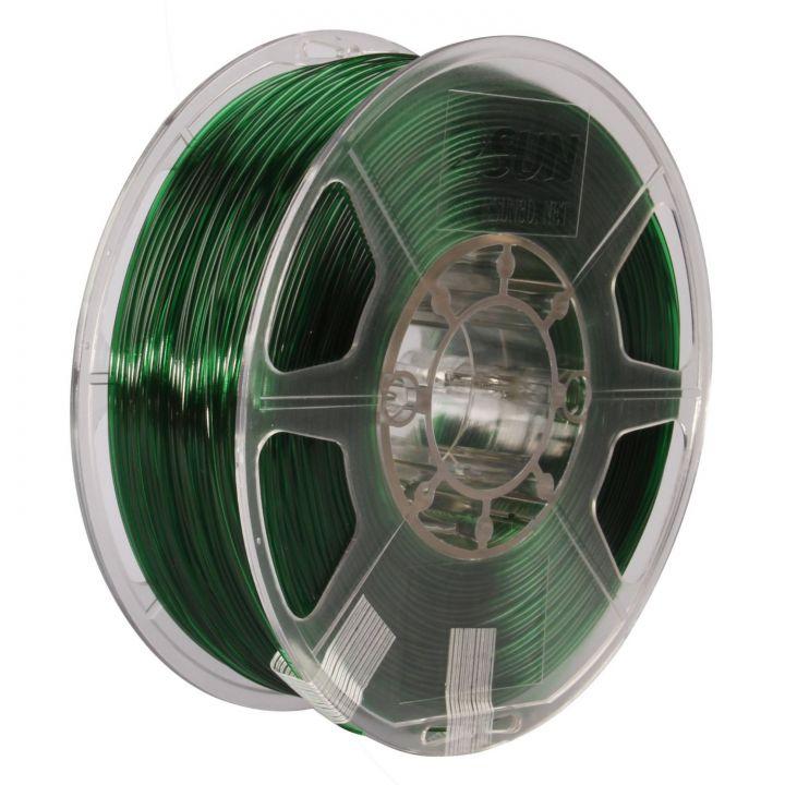 Катушка PETG-пластика ESUN 1.75 мм 1кг., зелёная (PETG175G1)