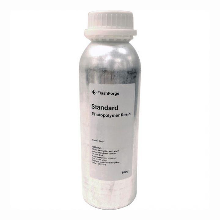 Фотополимер Flashforge Standard, серый (0,5 л)