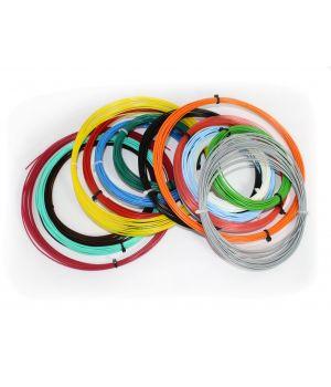 Комплект PLA пластика Tiger 3D 1.75 мм для 3D ручек, 14 цветов по 9 метров каждого цвета
