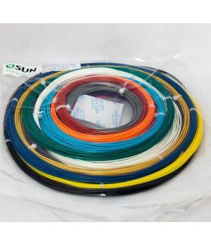 Комплект ABS-пластика ESUN 1.75 мм Для 3D ручек, 14 цветов по 9 метров каждого цвета