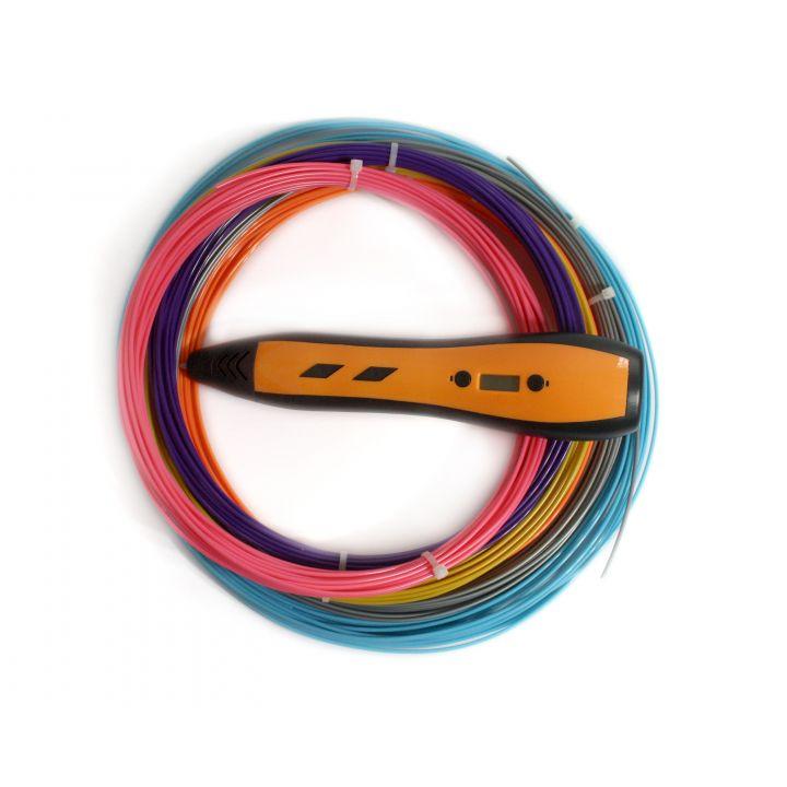 3D ручка RP700A, оранжевая, для девочек