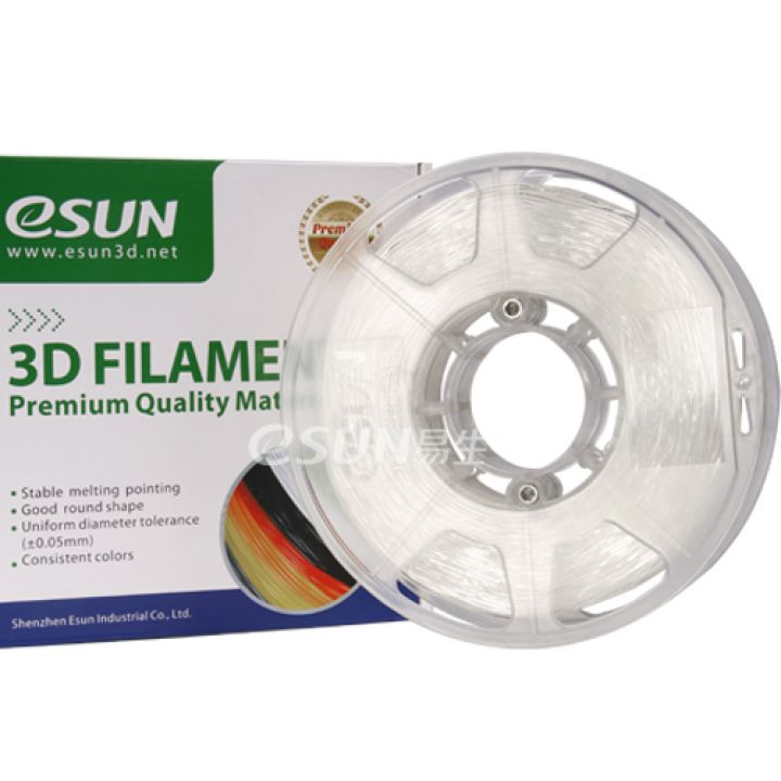 Катушка eFlex-пластика TPU ESUN 1.75 мм 1кг., натуральная (TPU175N1)
