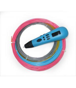 3D ручка Tiger 3D Multi One, Голубая, Для девочек