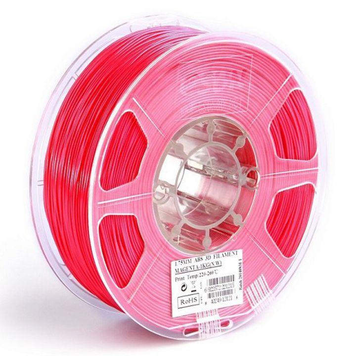 Катушка ABS-пластика ESUN 1.75 мм 1кг., пурпурно-красная (ABS175PP1)