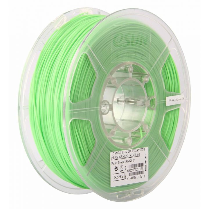 Катушка PLA-пластика ESUN 1.75 мм 1кг., светло-зеленая (PLA175V1)
