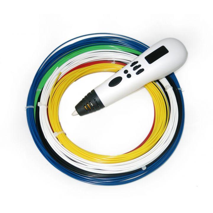3D ручка Tiger 3D Multi One, Белая, Для мальчиков