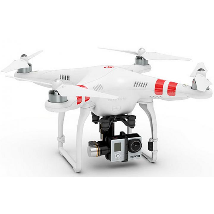 Квадрокоптер DJI Phantom 2  H3-3D