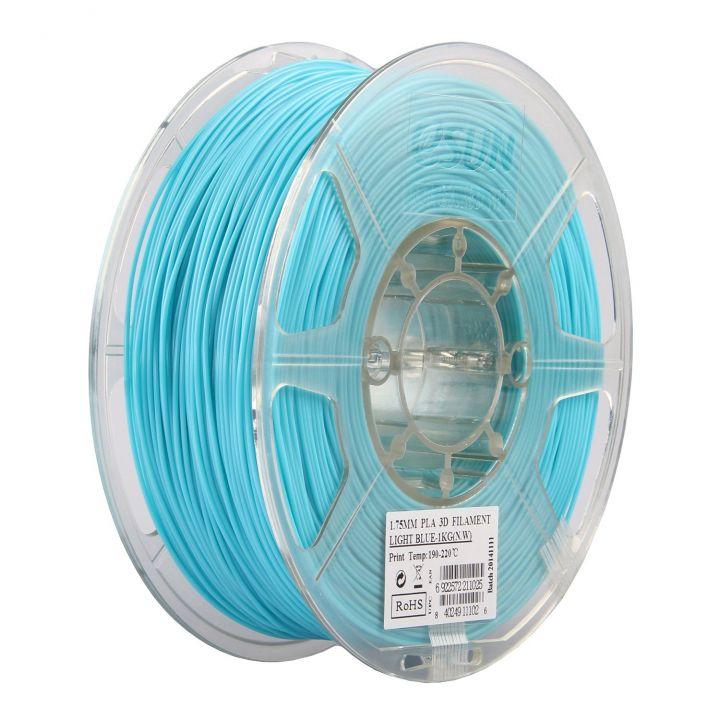 Катушка PLA-пластика ESUN 1.75 мм 1кг., голубая (PLA175D1)