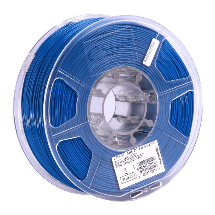 Катушка ABS-пластика ESUN 1.75 мм 1кг., синяя (ABS175U1)