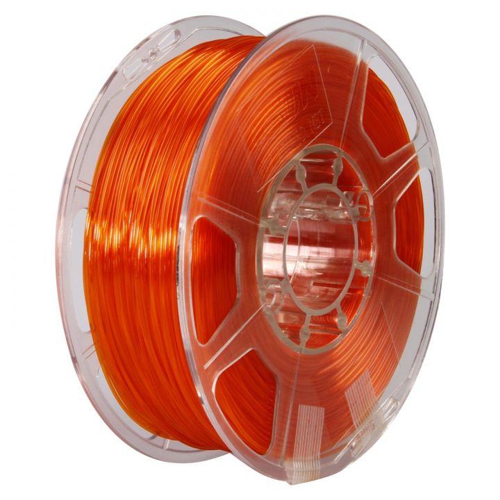 Катушка PETG-пластика ESUN 1.75 мм 1кг., оранжевая (PETG175O1)