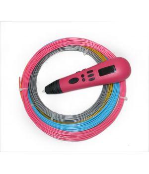 3D ручка Tiger 3D Multi One, Розовая, Для девочек
