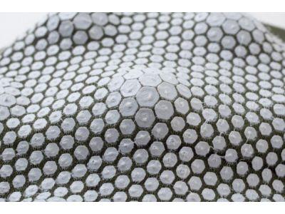 Ткань при помощи 3D-печати «научили» принимать объемную форму