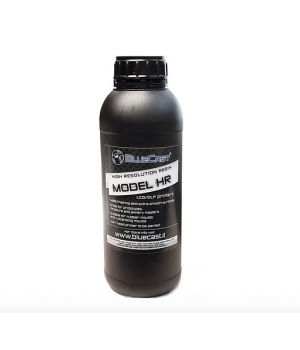 Стоматологический фотополимер BlueCast Model HR Dark Grey 1000 грамм