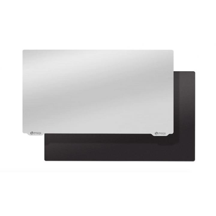 Стальная поверхность 135х75 на магнитной основе для лучшего прилипания моделей 3D печати на принтерах
